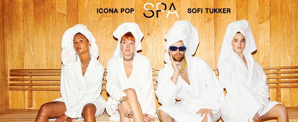Icona Pop Team Up With Sofi Tukker On New Single, «Spa»