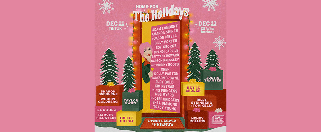 Cyndi Lauper Announces 10th Annual Home For The Holidays Benefit Concert